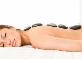 Back, Neck & Shoulder Massage with Stones