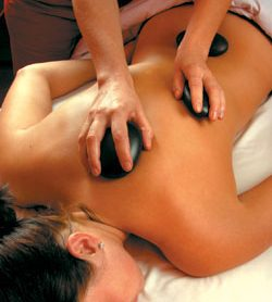 Thai oil hot-Stone-Massage